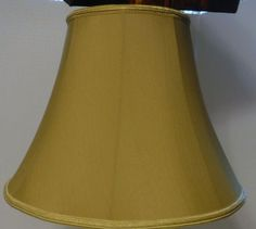 40085 Gold Silk With White Lining Table Lamp Shade