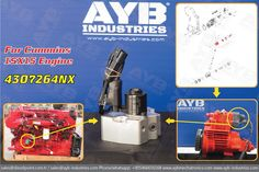 4307264NX Cummins ISX15 XPI Euro 6  High pressure pump metering units available in stock!  for sales and more :sales@dieselpoint.com.tr / sales@ayb-industries.com  Phone/whatsapp: +905466656168  www.aybmechatronics.com  www.ayb-industries.com