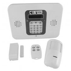 Alarmas para naves, para almacenes, granjas... Sistemas anti intrusión compuestos por: central, detector infrarrojo, detector magnético y mando.