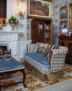 #miniature #living rooms by Ken at JBM../..10..25 qw