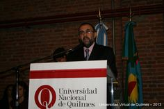 Dr. Alejandro Villar, Vicerector de la Universidad Nacional de Quilmes
