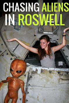 What's it like to spend time in Roswell, home of the aliens? I found it to be…