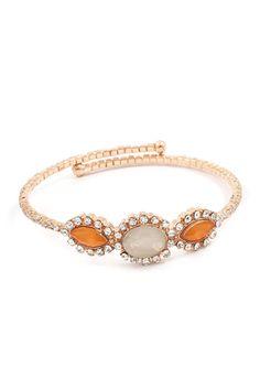 Sadie Bracelet in Caramel Ivory