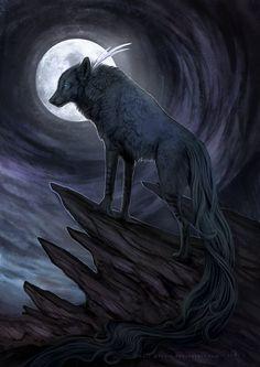 Moonchild by wolf-minori.deviantart.com on @DeviantArt