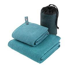Compact and super light-weight, our Eagle Creek® Travel Towels are a fraction of the size and weight of regular bath towels, making them a great solution for travel or workouts at the gym. They are ultra soft, absorbent and quick-drying.