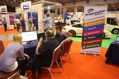 Progressive Platforms welcome visitors to their stand
