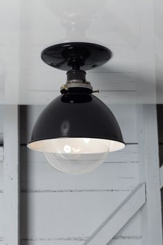 $99 Industrial Metal Shade Lamp - Semi Flush Mount - Industrial Light Electric - 1
