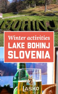 Lake Bohinj is truly a hidden gem in the Julian Alps. If you're planning a trip around Slovenia, here's all the best winter activities at Lake Bohinj, Slovenia! | A Globe Well Travelled