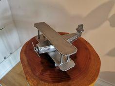 Stainless Steel Handmade Airplane | Metal Art