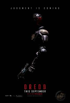 "First US poster for ""DREDD"""