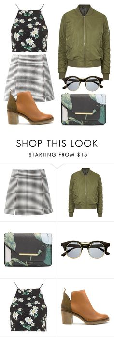 """ADORO"" by keisha-1 ❤ liked on Polyvore featuring Topshop, Ted Baker, Retrò, Miista, women's clothing, women's fashion, women, female, woman and misses"