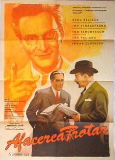 Afis: Afacerea Protar/1954 Film Movie, Movies, Rupaul, Music, Youtube, Movie Posters, Musica, Movie, Musik