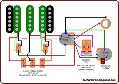 Ibanez AZ series HSS DynaMIX9 diagram Guitar in 2019