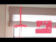 DIY / Coudre un store - YouTube