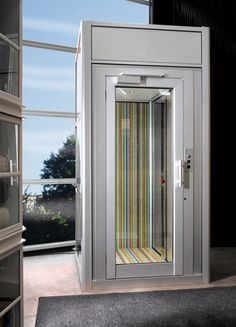 Gorgeous Home Elevator by Artisan Elevators Glass Elevator, House Stairs, House Elevation, Architectural Features, Can Design, Built Ins, Creative Design, Home Improvement, New Homes