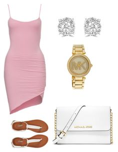 """Untitled #50"" by amaryllis76 ❤ liked on Polyvore featuring MICHAEL Michael Kors, Michael Kors, Effy Jewelry and Aéropostale"