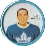 1962-63 Shirriff Coins #3 Frank Mahovlich Front