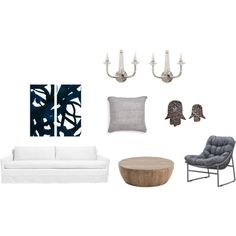 can you hear the ocean by sarahswansondesign on Polyvore featuring interior, interiors, interior design, home, home decor, interior decorating and Bobby Berk Home