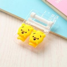 Cute Cartoon Cable Protector USB Cable Winder Cover Case For IPhone 5 5s 6 6s 7 7s plus cable Protect stitch