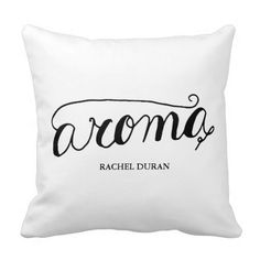 Shop calligraphy aroma pillow created by simple_wordings.