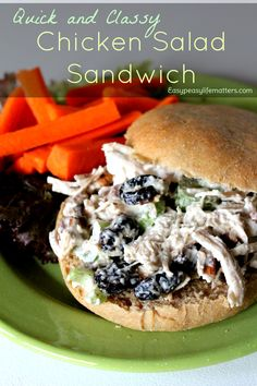 Get ready for a delicious summer recipe! Nothing is easier or quicker than a traditional Chicken Salad Sandwich. We originally shared it in our free E-Book Clean Eating for Beginners. Paleo For Beginners, Clean Eating For Beginners, Real Food Recipes, Healthy Recipes, Delicious Recipes, Salad Recipes, Healthy Picnic, Meatless Burgers, Sandwiches