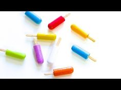 myfroggystuff video on youtube: How to Make Doll Popsicles