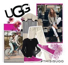"""""""Play With Prints In UGG: Contest Entry"""" by theprettychef ❤ liked on Polyvore featuring UGG Australia, Vince, Levi's, Aéropostale and thisisugg"""