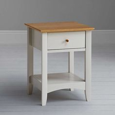 BuyJohn Lewis Alba Lamp Table, Soft Grey/Oak Online at johnlewis.com