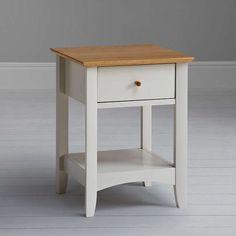 BuyJohn Lewis Alba Lamp Table, Soft Grey/Oak Online at johnlewis.com