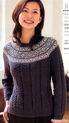 Texture and Fair Isle Knitting Charts, Hand Knitting, Norwegian Knitting, Knitting Patterns, Crochet Patterns, Fair Isle Pattern, How To Start Knitting, Hand Knitted Sweaters, Fair Isle Knitting