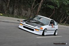 CRX Si first manual car I learned to drive while in HS <3