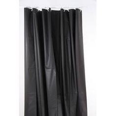 Disponible sur maisondulinge.fr Rideau fil Noir 90x200cm | Faites de ...