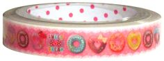 Q-Lia Sweet Dream Doughnuts Medium Deco Tape
