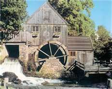 Jenney Grist Mill, Plymouth, MA