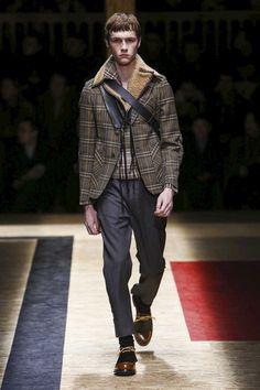 Prada menswear  F/W 2016-2017 Milan Fashion Week.