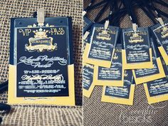 Cirque Du Soleil Collection - Printable -  VIP Pass and Invitation. $15.00, via Etsy.