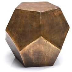 NEW! Polygon Cool Cuts Side Table   Bedside Tables   Tables   French Bedroom Company. http://www.frenchbedroomcompany.co.uk/store/tables/bedside-tables/product/polygon-cool-cuts-side-table-or-stool