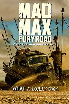 Mad Max Fury Road poster by DComp on DeviantArt