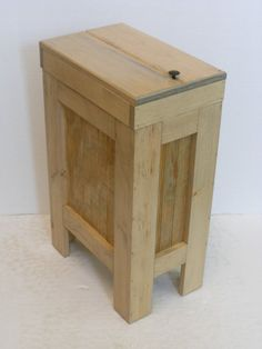 Rustic Bedside Table Wooden Night Stand by PalletablesUK on Etsy Rustic Nightstand, Wooden Bedside Table, Nightstand Ideas, Bedside Tables, Wood Table, Rustic Side Table, Pallet Furniture, Furniture Projects, Rustic Furniture