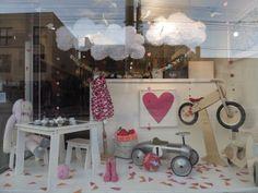 KOL KID Valentine's Day Window Display 2013