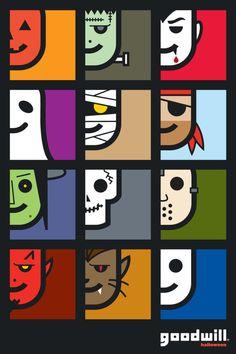 goodwill halloween poster