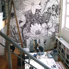 Wall decor | jebiga | #workspace