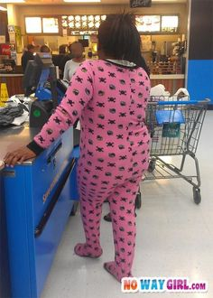 Come On People Can We Stop Wearing Onesies In Walmart? - NoWayGirl