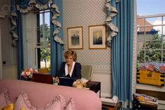 The Princess of Wales - Kensington Palace. Photos taken inside apartments 8 and 9 of KP - Diana's home from 1982 to 1997