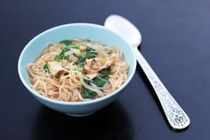 Easy Asian Chicken Noodle Soup (a.k.a. Homemade Ramen) - This Week for Dinner - Weekly Meal Plans, Dinner Ideas, Recipes and More!