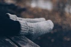 Villasukilla lämpöä talvisiin pakkaspäiviin Wool Socks, Villa, Hiking, Clothing, Sweaters, Outdoor, Inspiration, Walks, Outfits