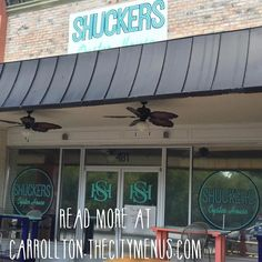 The Wait is Over! @shuckersoysterhouse is here! #carrolltonfood #visitcarrollton #carrolltonga #thecitymenus #tcmpartners