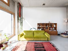 We explore the work of Berlin duo Gonzalez Haase who capture contemporary design magic that's bound to evoke feelings of appreciation for architecture. Colourful Living Room, Boho Living Room, Living Room Interior, Living Room Decor, Living Spaces, Atelier Architecture, Jorge Gonzalez, Modern Furniture, Furniture Design