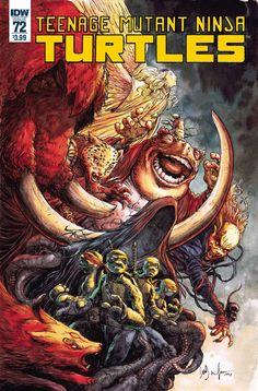 Teenage Mutant Ninja Turtles #72