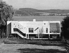 House Merz (1958-59) in Motier, Switzerland, by Atelier 5